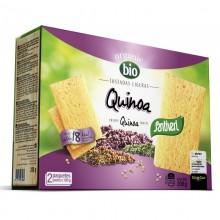 Tostadas ligeras de quinoa santiveri
