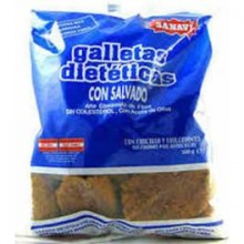 Galletas Integrales Salvado Sanaví