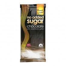 Chocolate sin azúcar añadido