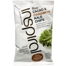 Kale chips cacao y canela