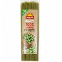 Espaguetis de guisantes