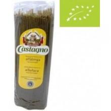 Spaguetti de trigo albahaca