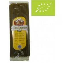Spaguetti finos de trigo ajo y perejil castagno