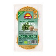 Hamburguesa Kale y quinoa