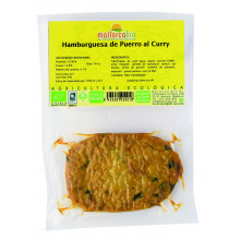 Hamburguesa Puerro al Curry