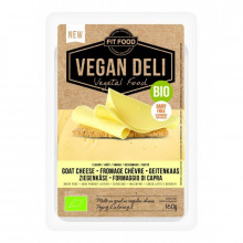Lonchas queso vegano estilo cabra