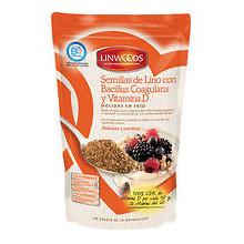 Semillas lino molindas probiótico y vitamina D