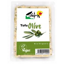 Tofu con olivas