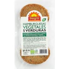 HAMBURGUESA VEGETAL 5 VERDURAS (2 ud.)