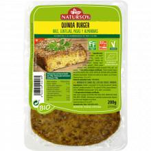 Quinoa Burguer, Kale y Lentenjas