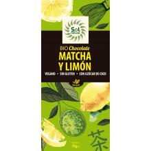 Chocolate con Té Matcha y Limón