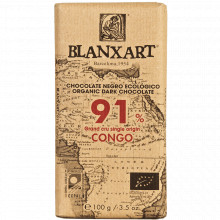 Chocolate Congo 91% Blanxart