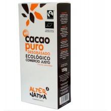 Cacao puro desengrasado bio