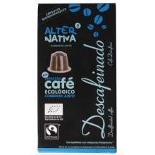 Café descafeinado cápsulas