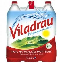 Pack 6 Agua mineral Viladrau 1,5L