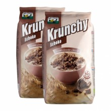 Krunchy chocolate