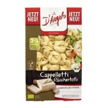 Capeletti tofu ahumado.