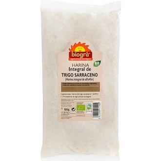 Harina de trigo sarraceno integral biogra