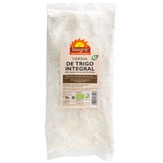 Harina de trigo integral biogra