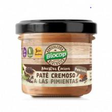 Paté Cremoso Pimientas Biocop