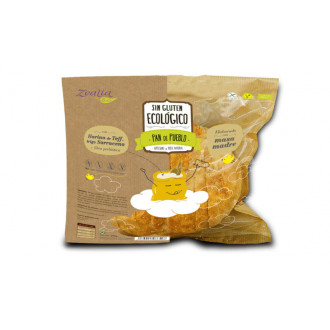 Pan de pueblo sin gluten