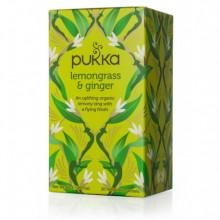 Infusión Hierba de Limón y Jengibre Pukka