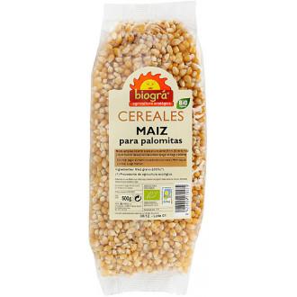 Maiz en grano palomitas biogra