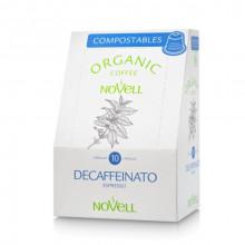 Cápsulas Café Descafeinado Novell