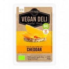 Lonchas queso vegano  cheddar