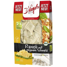 Ravioli queso vegano