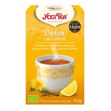 Infusión detox con limón