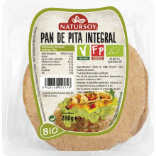Pan Pita Integral Natursoy