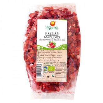 Fresas liofilizadas
