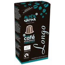 Cápsulas café ecológico longo