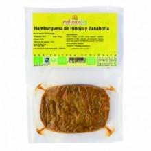 Hamburguesa Hinojo y Zanahoria MallorcaBio