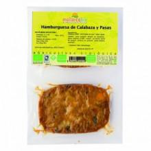Hamburguesa Calabaza  y Pasas Mallorca Bio