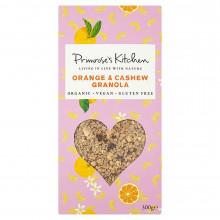 Granola de Anacardos y Naranja