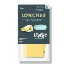 Lonchas Con Hierbas Queso Vegano Violife