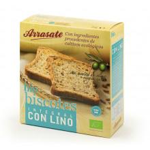 Biscotes Integrales con Lino Arrasate