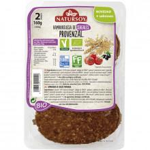 Hamburguesa Cereales Provenzal Naturasoy