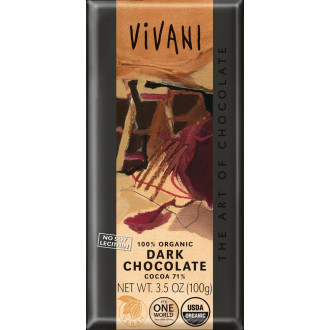 Chocolate 71% Cacao Vivani