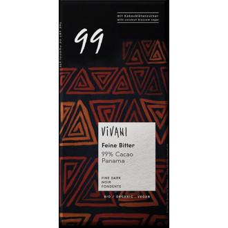Chocolate  99%  Cacao Vivani