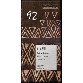 Chocolate  92%  Cacao Vivani