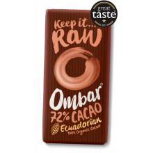 Chocolate Cacao Negro 72% Ombar