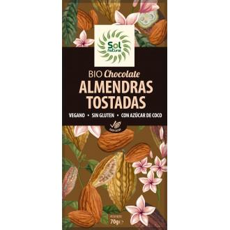 Chocolate con Almendras Tostadas Sol Natural