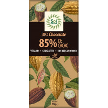 Oferta Chocolate Dark Cacao 85% Sol Natural