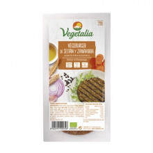 Vegeburguer Seitán con Zanahoria Vegetalia