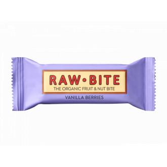 Barrita Vainilla y Bayas Raw Bite