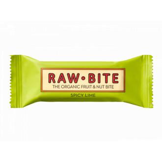 Barrita Lima y Jengibre Raw Bite
