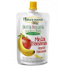 Puré Plátano y Manzana Natura Nuova Bio